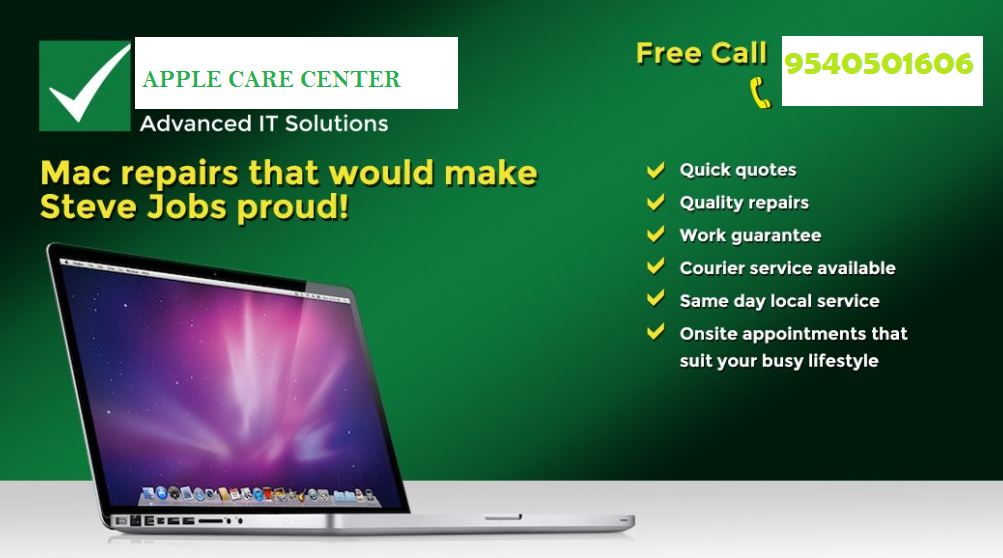 Apple Laptop Service Center in Noida